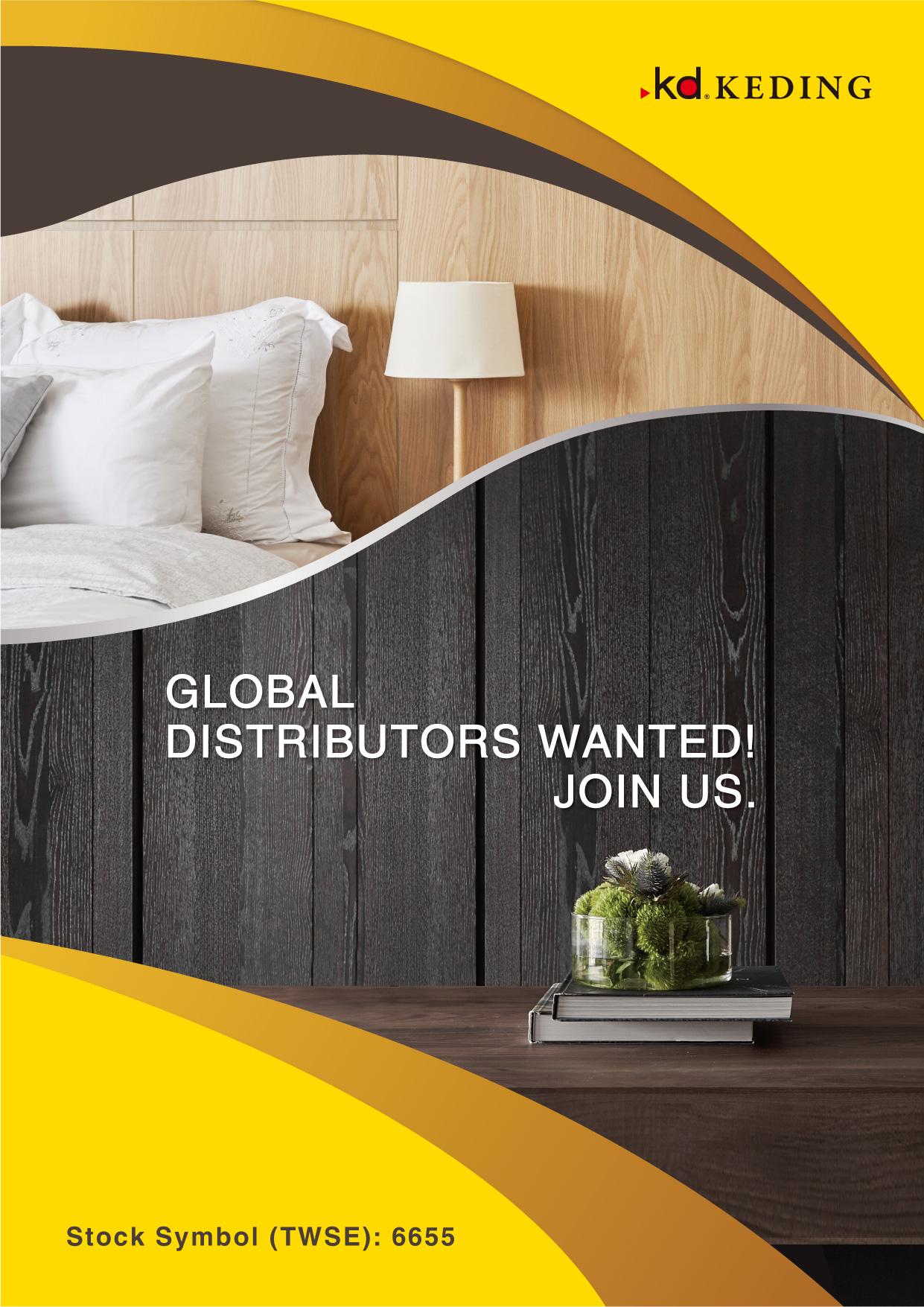 GLOBAL DISTRIBUTORS WANTED