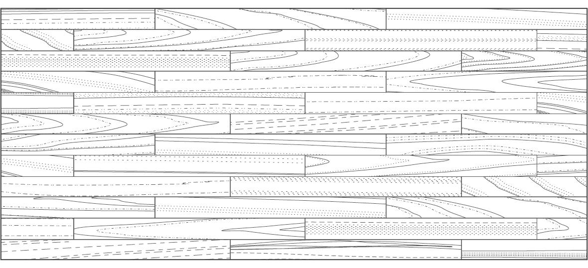 階梯狀定尺系列木地板