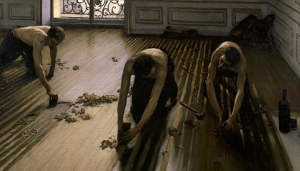 古老木地板工藝