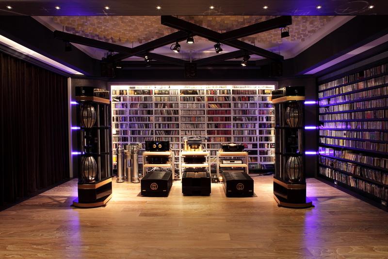 音樂室的整體空間與陳列