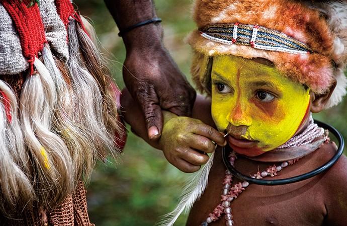 新幾內亞的哈根山勇士