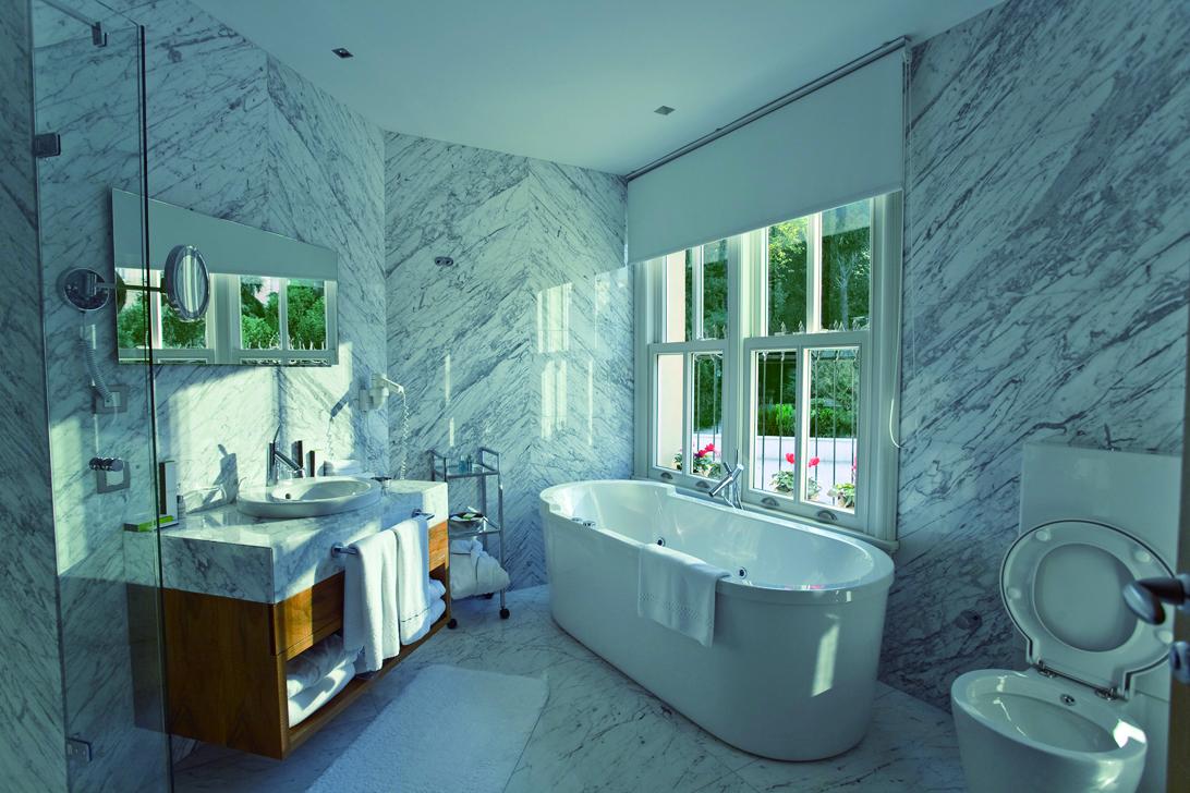 運用奈米原理的衛浴設備