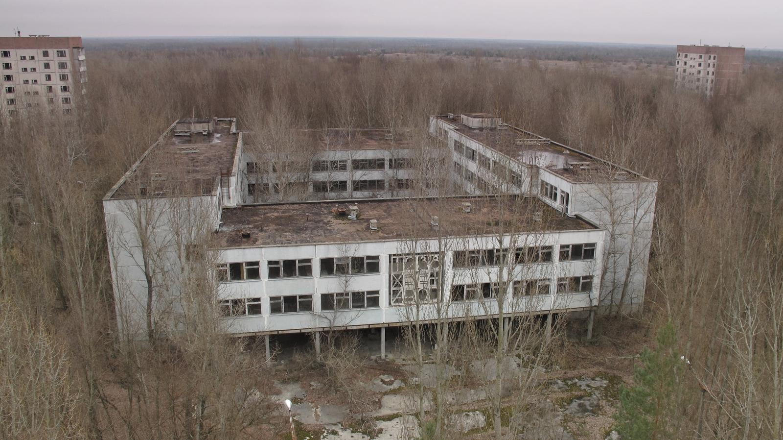 荒廢的普里皮亞季(Pripyat)學校