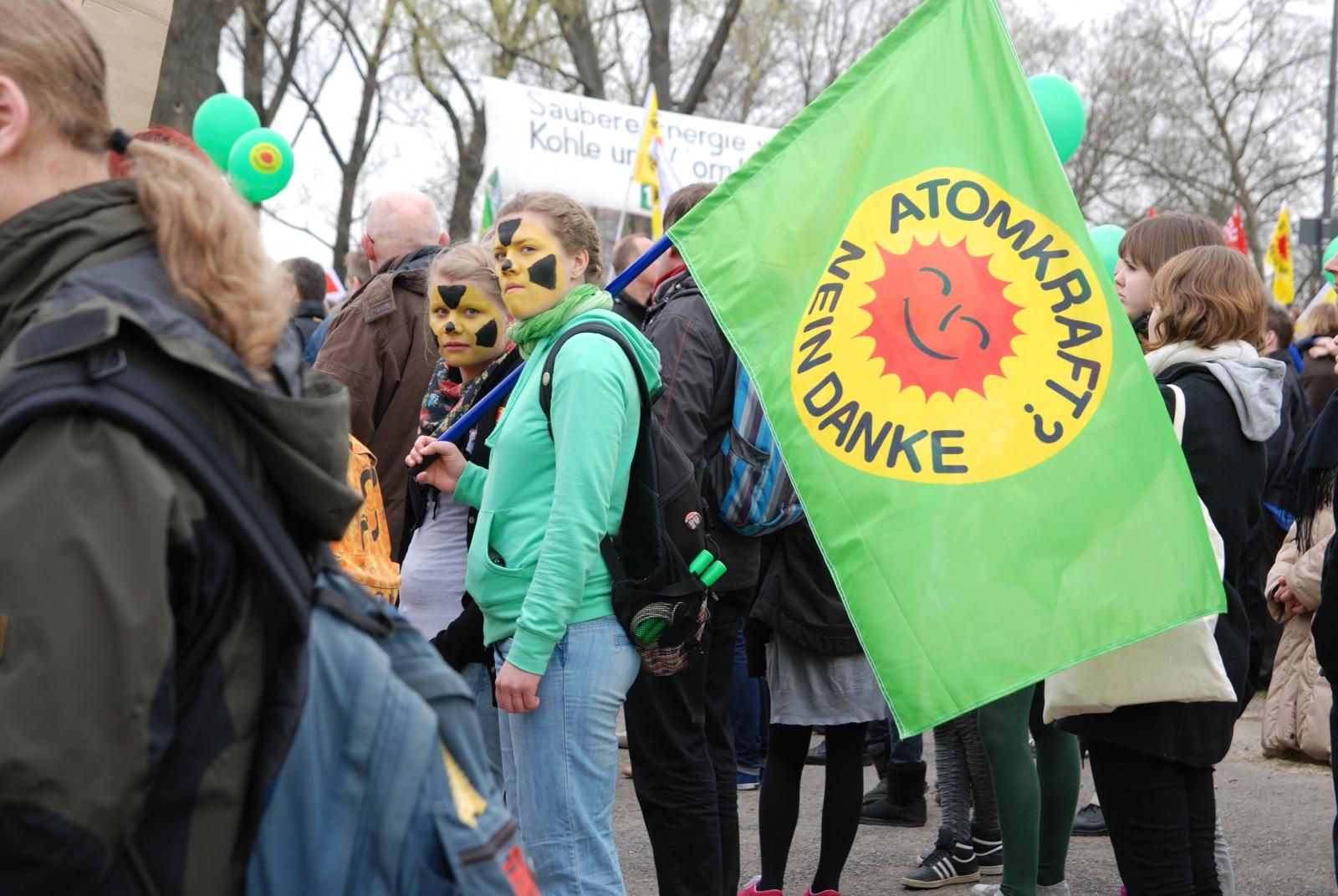 德國舉辦的反核遊行