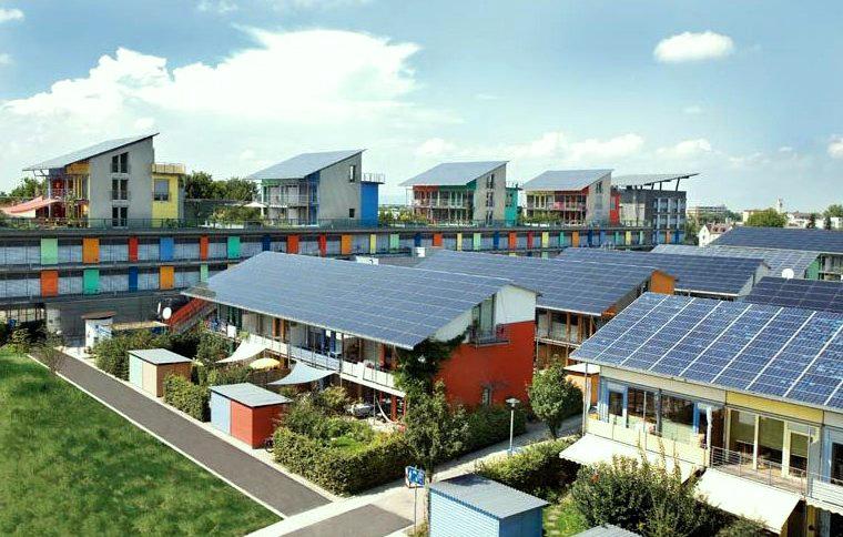 黑森林南方的太陽能城鎮