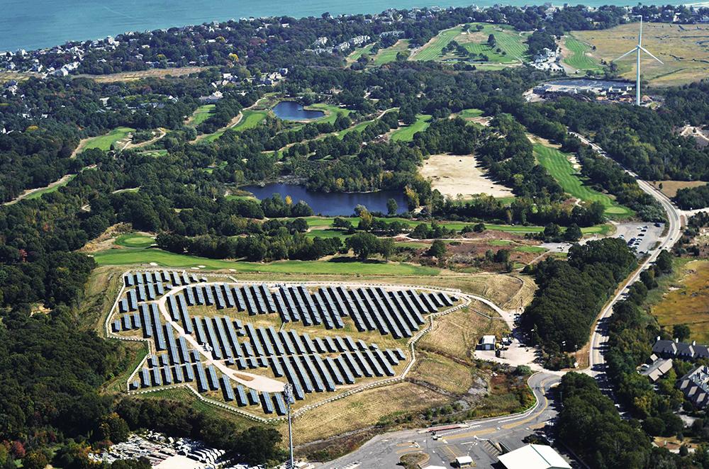 達到100%綠能發電的柏靈頓