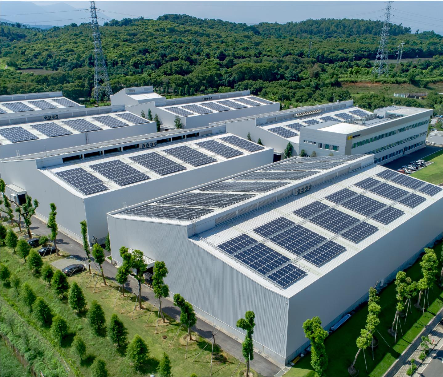 加裝太陽能板