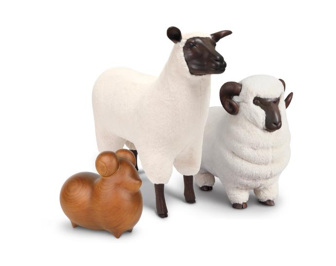 嘟嘟羊 KF33A0502A、薩福克 KF21A0102C、美利諾 KF21A0101A