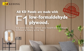 All KD Panels are made with F1 low-formaldehyde plywood.(圖)